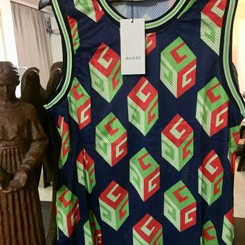 Gucci Sleeveless Shirt 'Size US XXL' (Limited Edition Piece Designed in Tokyo Japan! 1 of 1)