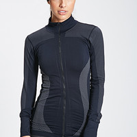 Seamless Zip-Up Track Jacket