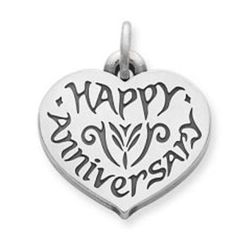 """Happy Anniversary"" Charm 
