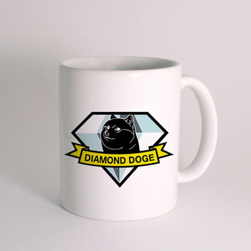 Diamond Doge Coffee Mugs