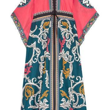 Mary Katrantzou - Asso printed cotton and silk-blend maxi dress