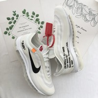 Nike Air Max 97 x OFF-WHITE White Sneaker