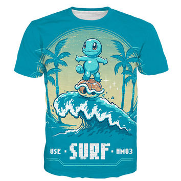 Squirtle Surf T-Shirt