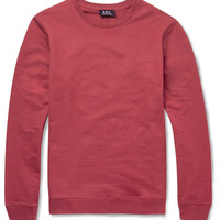 A.P.C. - Cotton-Jersey Sweatshirt | MR PORTER