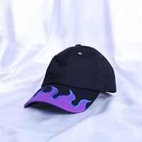 Blaze It Embroidered Flame Hat