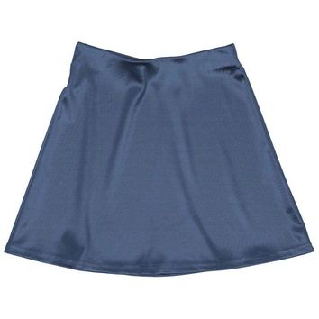 Internet Girl Blue Software Mini Skirt