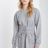 Heather Luke Grey Sweatshirt