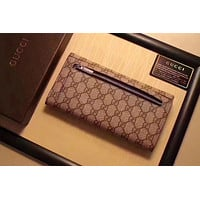 GUCCI NEW STYLE PVC LEATHER WALLET