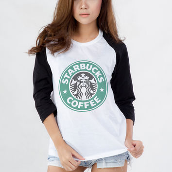 Starbucks T Shirt for Teen Teenage Girls Teenager Blogger Tumblr Instagram Clothes Clothing Fashion Shirt Birthday Girlfriends BestFriends Friends Christmas Gifts