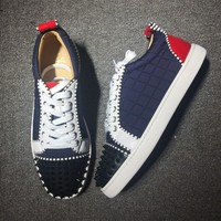 Christian Louboutin CL Low Style #2014 Sneakers Fashion Shoes Online
