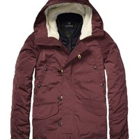 Parka Jacket With Inner Bomber - Scotch & Soda
