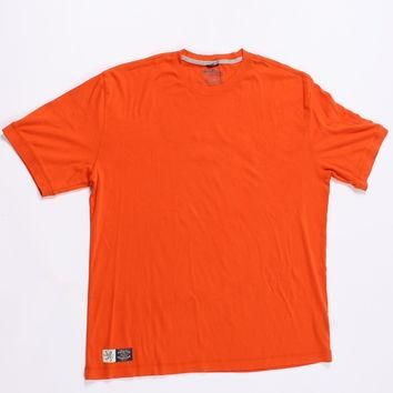 Tommy Hilfiger Orange Men Polo Shirt Size XXL