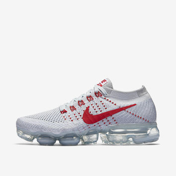 WMNS AIR VAPORMAX Women's Nike Air VaporMax 'Pure Platinum & University Red'.