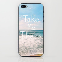 Take Me There... iPhone & iPod Skin by Lisa Argyropoulos | Society6