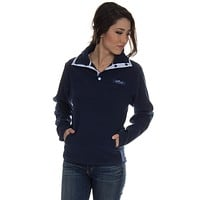 The Blakely Pullover in Navy by Lauren James - FINAL SALE