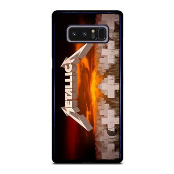 METALLICA MASTER OF PUPPETS Samsung Galaxy Note 8 Case Cover