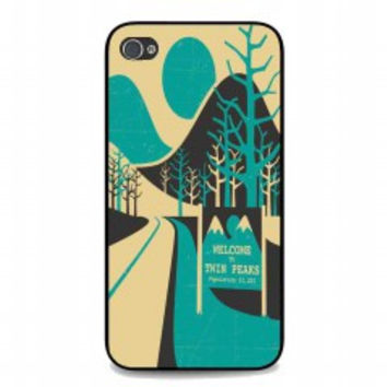 Welcome To Twin Peaks for iphone 4 and 4s case