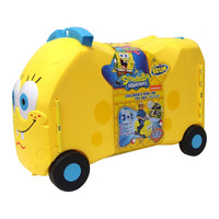 Spongebob Squarepants Nickelodeon Vrum Children's Ride-On Toy Box