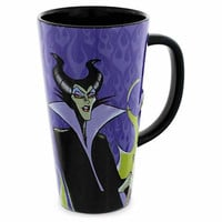 Disney Parks Sleeping Beauty Maleficent Tall Ceramic Coffee Cup Mug New