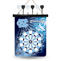 North Carolina Tar Heels NCAA Magnetic Dart Board