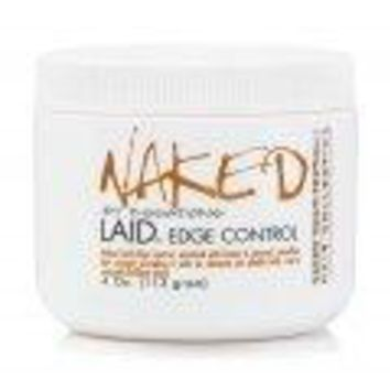 Naked by Essations Laid Edge Control, 4 Ounce