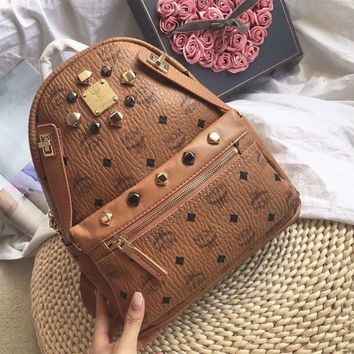 MCM Backpack Crossbody 2 IN 1 (Removable)