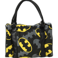 DC Comics Batman Logo Canvas Bag