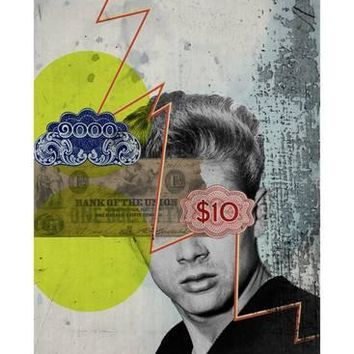 James Dean Giclee Print by Elo Marc at Art.com