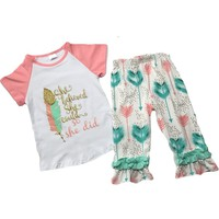 """She Believed She Could"" Boutique Girl Outfit"