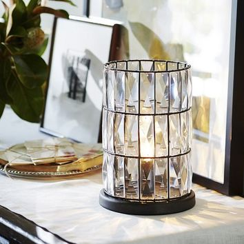 ADELINE CRYSTAL AMBIENT ACCENT TABLE LAMP