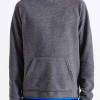 BDG Polar Fleece Crew Neck Sweatshirt- Charcoal