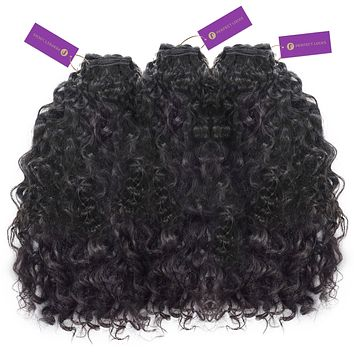 3 x Curly Hand-Tied Rows Bundle Deal