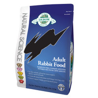 Oxbow Animal Health Natural Science Adult Rabbit Food