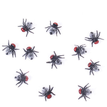 10pcs/lot Plastic Bugs Halloween Decoration