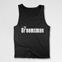 Bachelor Party Gifts For Groomsmen Tank Tops Wedding Tanks Groomsman Tank Groomsman Shirt Best Groomsman Gifts Wedding Party Tanks - SA313