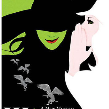 Wicked Broadway Musical Poster 11x17