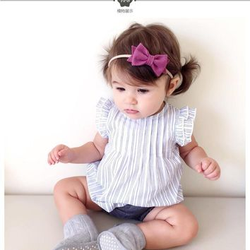 2017Summer Baby Girl Ruched Princess Dress Baby Cute Dress Kids Flower Birthday Clothes Dress Children Costumes