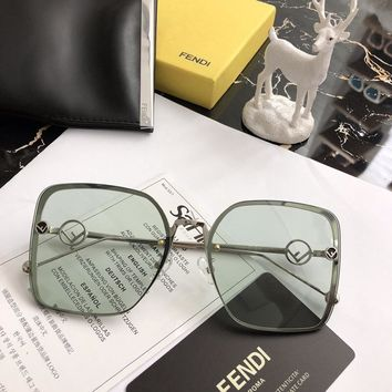 FENDI Fashion Women Men Personality Eyeglasses Glasses Sunglasses SIZE:62-16-140