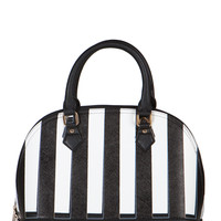 Striped Structured Handbag | 2020AVE