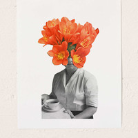 Hagar Vardimon Orange Art Print - Urban Outfitters
