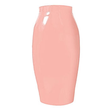 Couture Latex Crystal Pencil Skirt | Atsuko Kudo