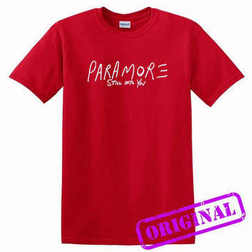 paramore still into you for shirt red, tshirt red unisex adult