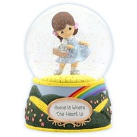 Home Is Where The Heart Is - Musical Water Globe
