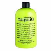 philosophy 3-in-1 ultra rich shampoo, bubble bath & body wash, senorita margarita