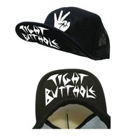 Workaholics Tight Butthole Black Trucker Hat
