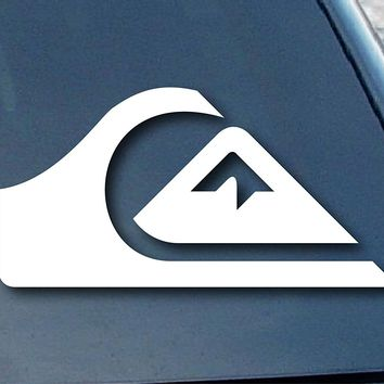 Quiksilver Surf  Logo Vinyl Sticker Decal Car Truck Windon Wall Laptop notebook