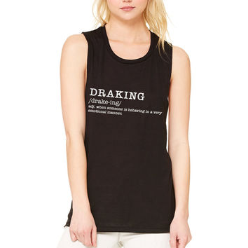 "Drake ""Draking"" Definition Muscle Tee"