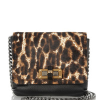 Lanvin The Happy Mini Pop Calf Hair and Leather Shoulder Bag in Multi - Avenue K