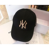 MLB 2019 new gold standard embroidery boutique baseball cap cap Black