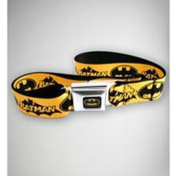 Batman Yellow Strap Seatbelt